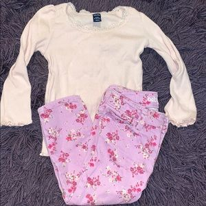 Baby gap girls jeans and top